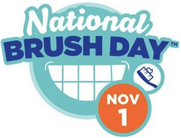 National Brush Day banner.