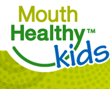 Mouth Healthy Kids banner.